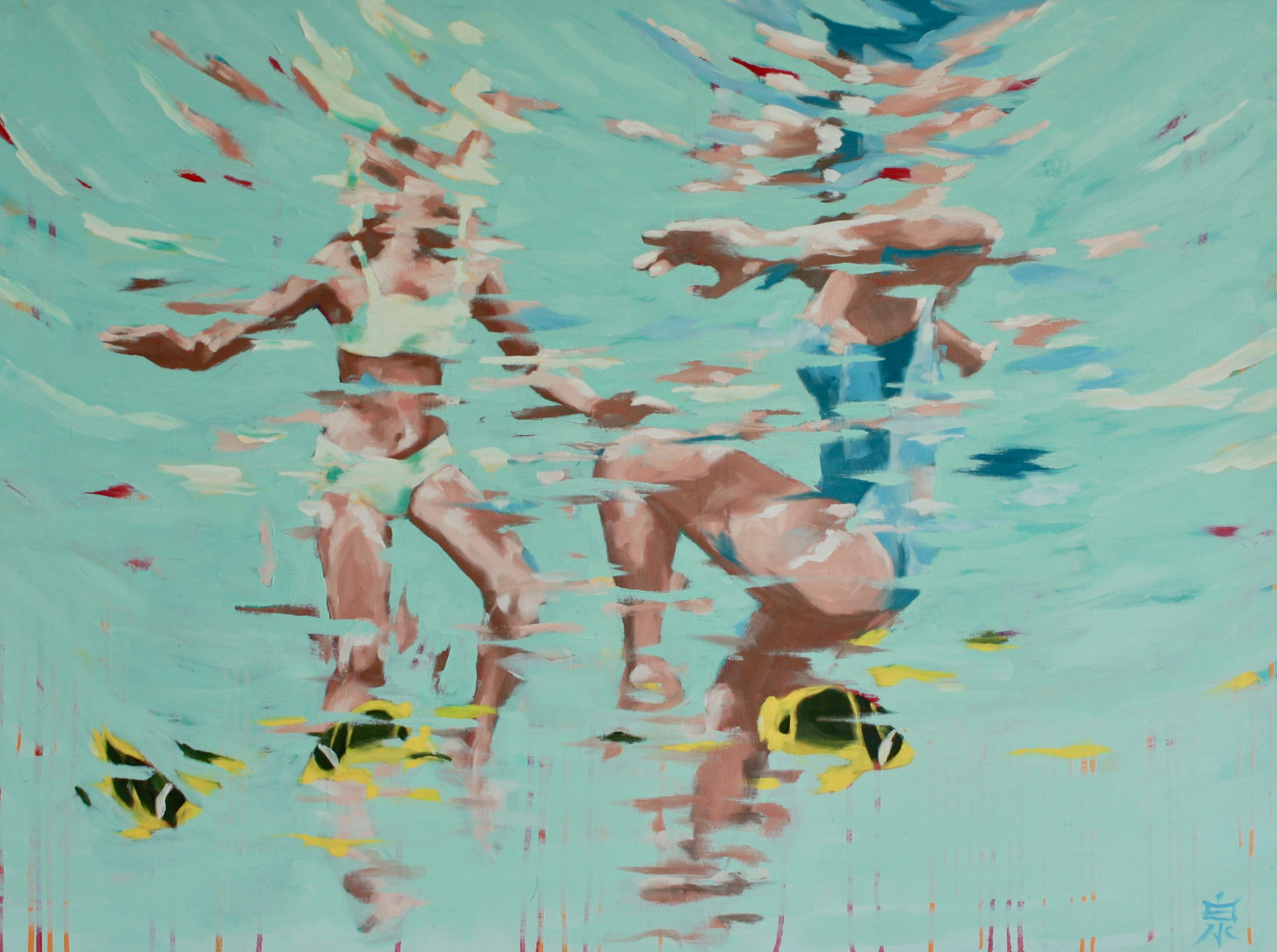playgrounds 30x40 oil on canvas