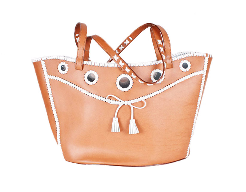 <b>Our price $245</b>, regularly $450<br>Anya Hindmarch Leather Handbag