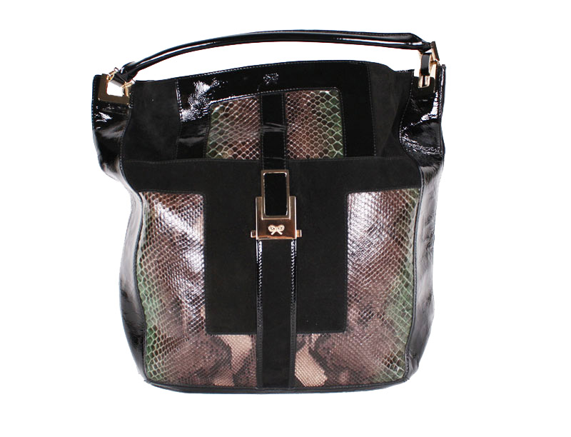 <b>Our price $699</b>, regularly $1995<br>Anya Hindmarch Python Bag