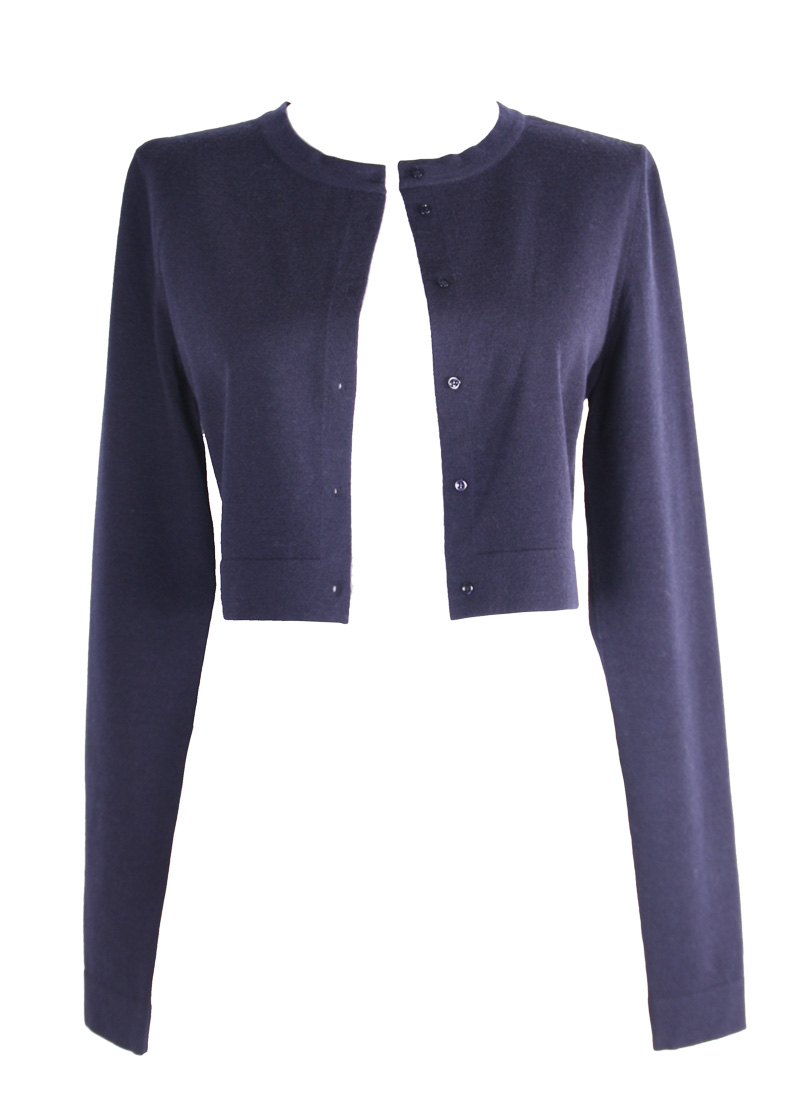 <b>Our price $399</b>, regularly $1070<br>Azzedine Alaia Cropped Cardigan