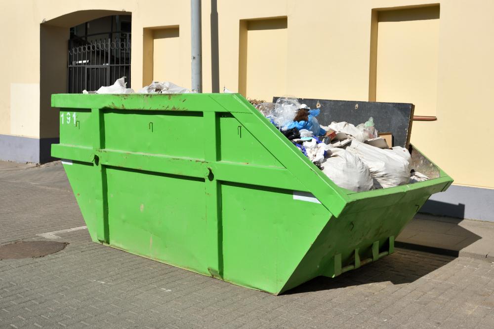 junk dumpster