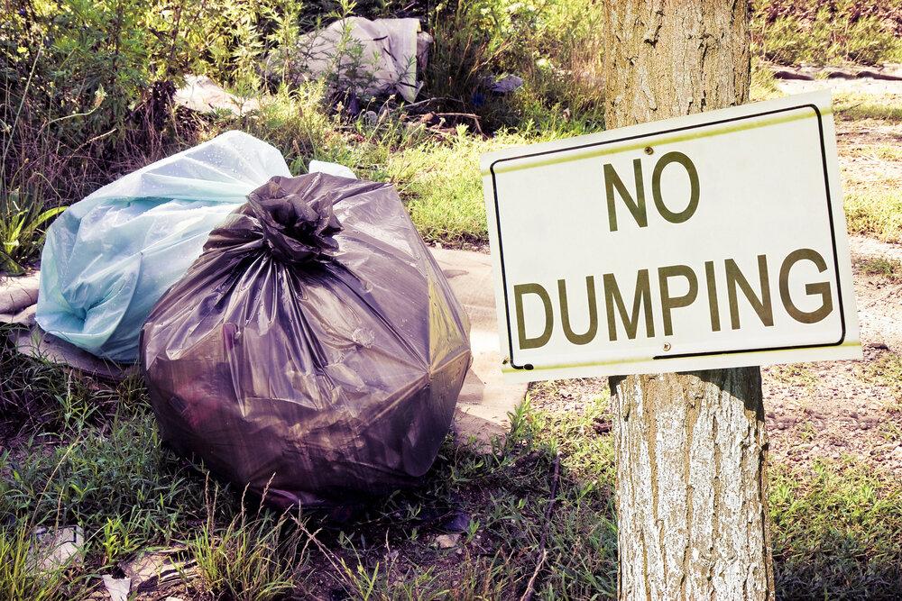 no dumping field