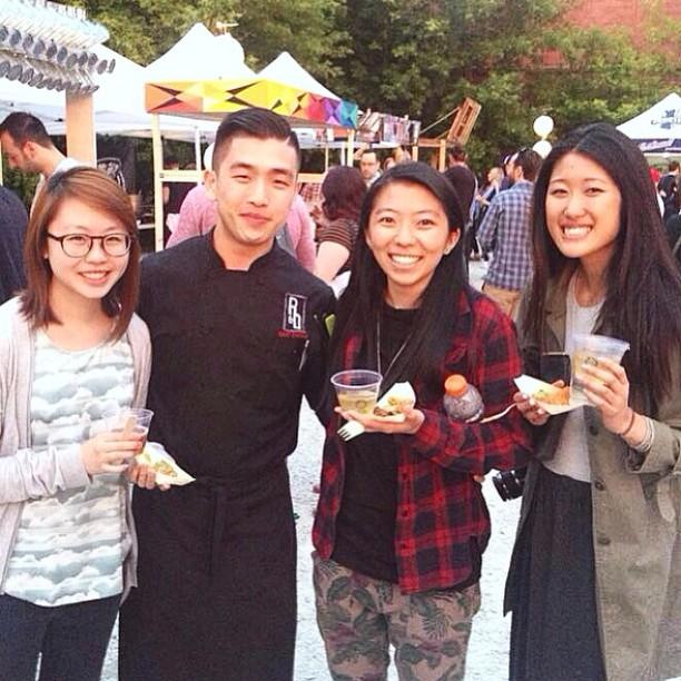 We met master chef canada winner from R&D! 😁😮