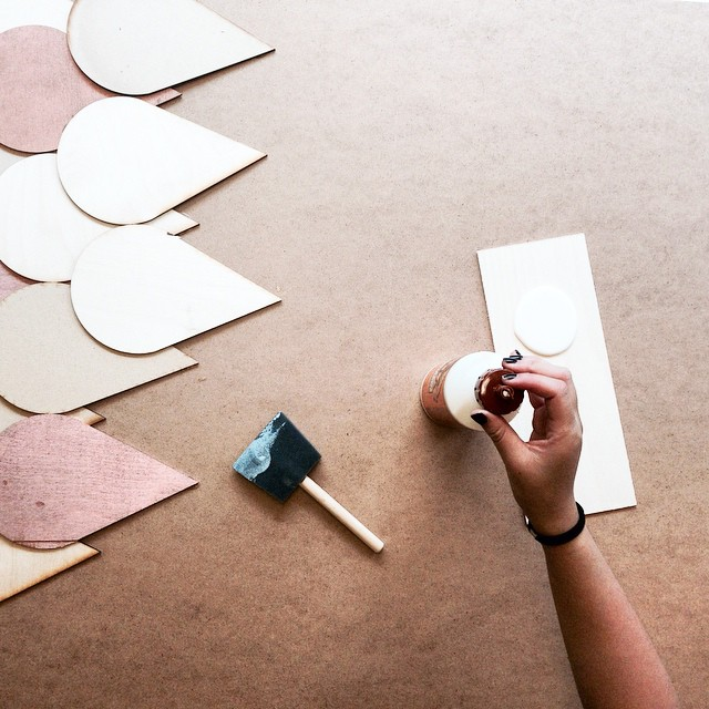 Glue. Stick. Press. Repeat. #roof #lasercut #wood #thestopNM