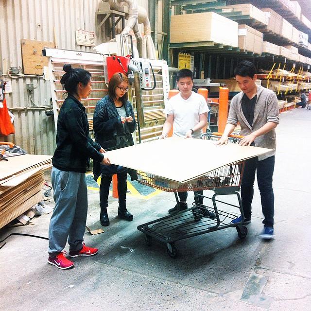 #crew deciding to buy cost effective materials 👌 💡