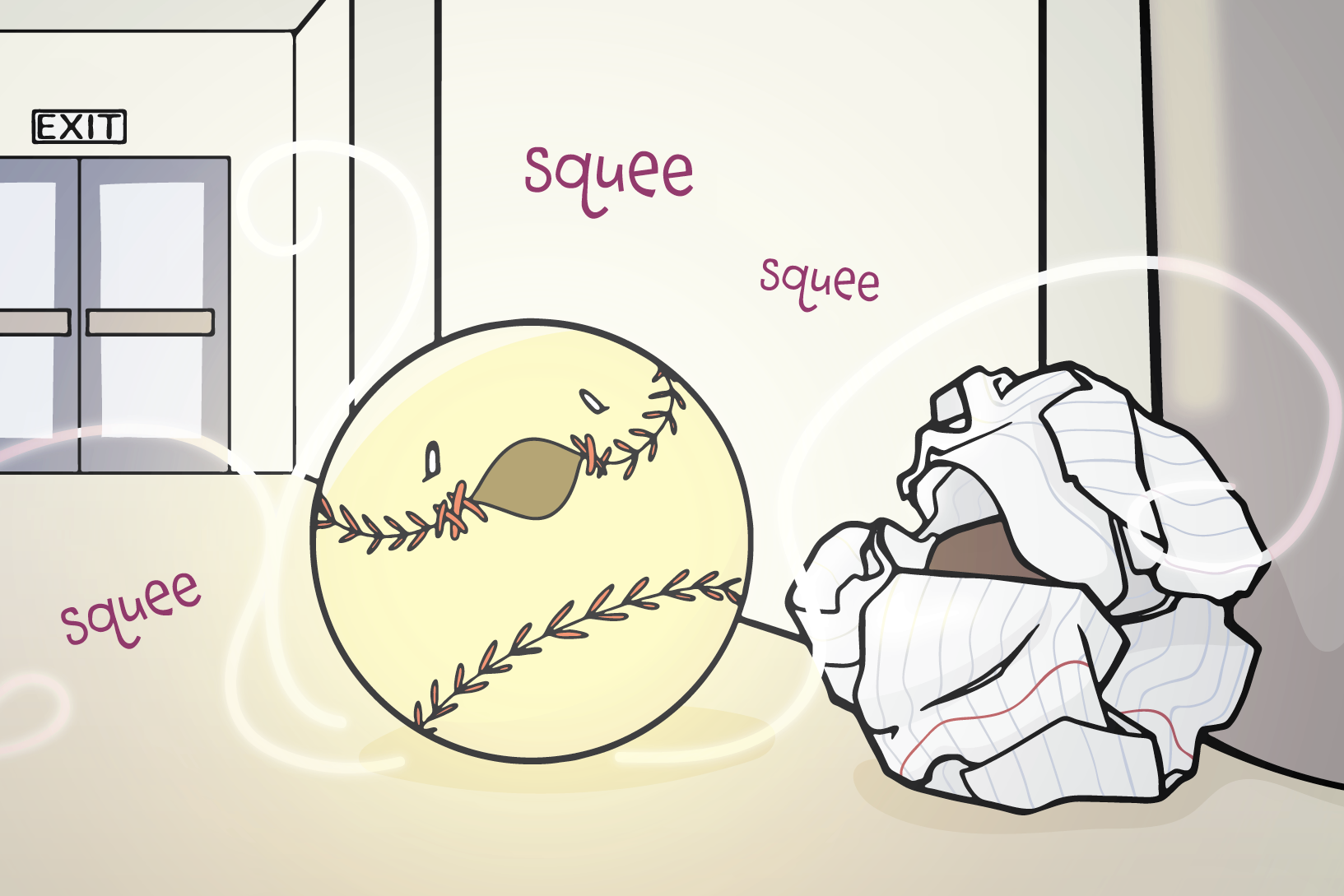 Chapter 4: Play Ball! - The magical crew wants to put an end to the Breaking Ball, and Basil is the only one (literally) standing in their way.