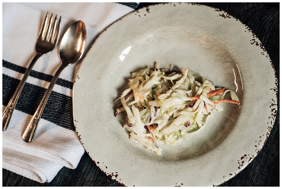 Kohl Salat (cole slaw)