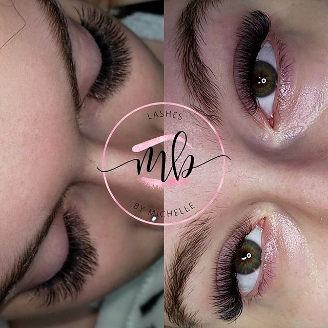 Beautiful Volume Lashes by our Amazing @lashedbymichelleb ❤️
