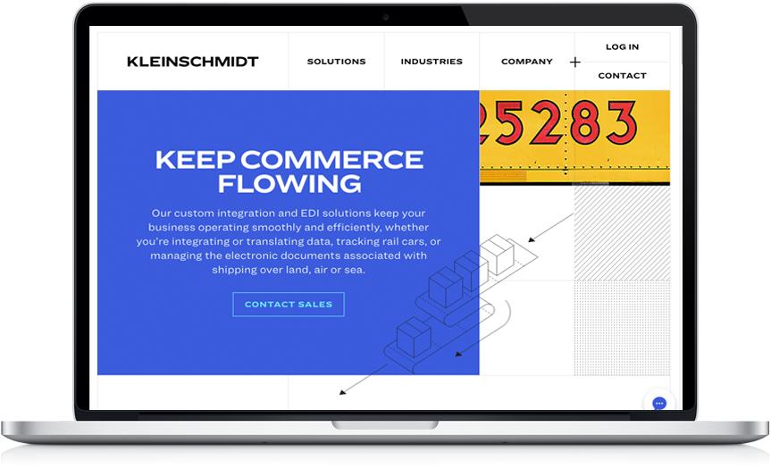 Kleinschmidt Laptop Keep commerce flowing.png