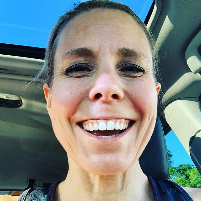 """Today on the treadmill I thought """"Hell yeah I'm a runner."""" I haven't thought that a long time and it felt great. #orangetheoryfitness #otfcswn #morelife #liveallout #otf #womensrunning #nevernotabeginner #prettysweaty"""