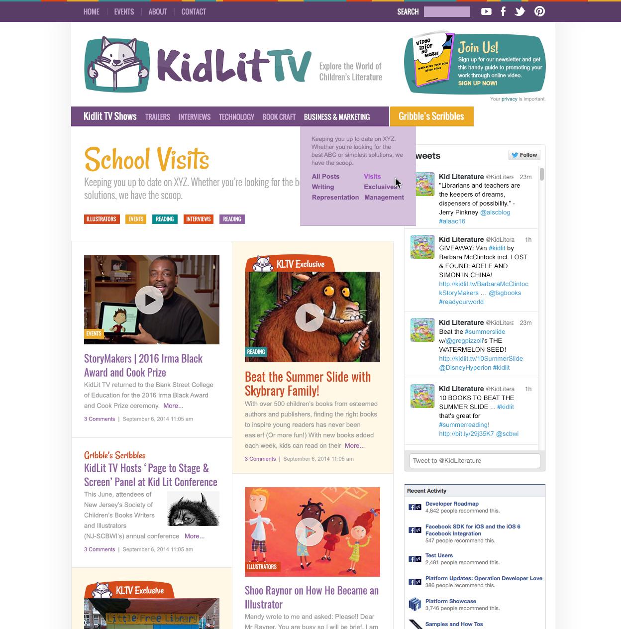 Children's book news