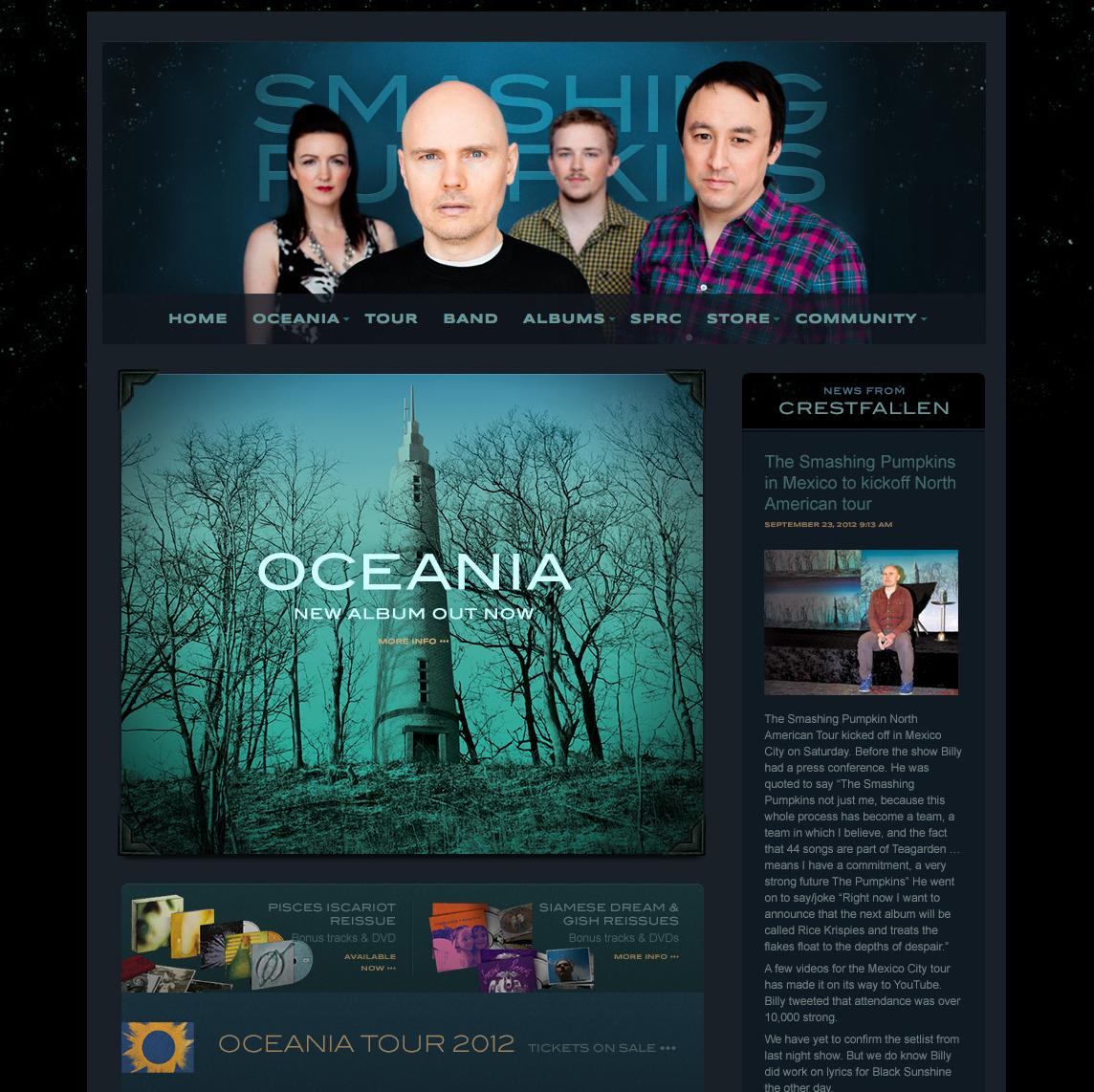 Grammy-winning band site