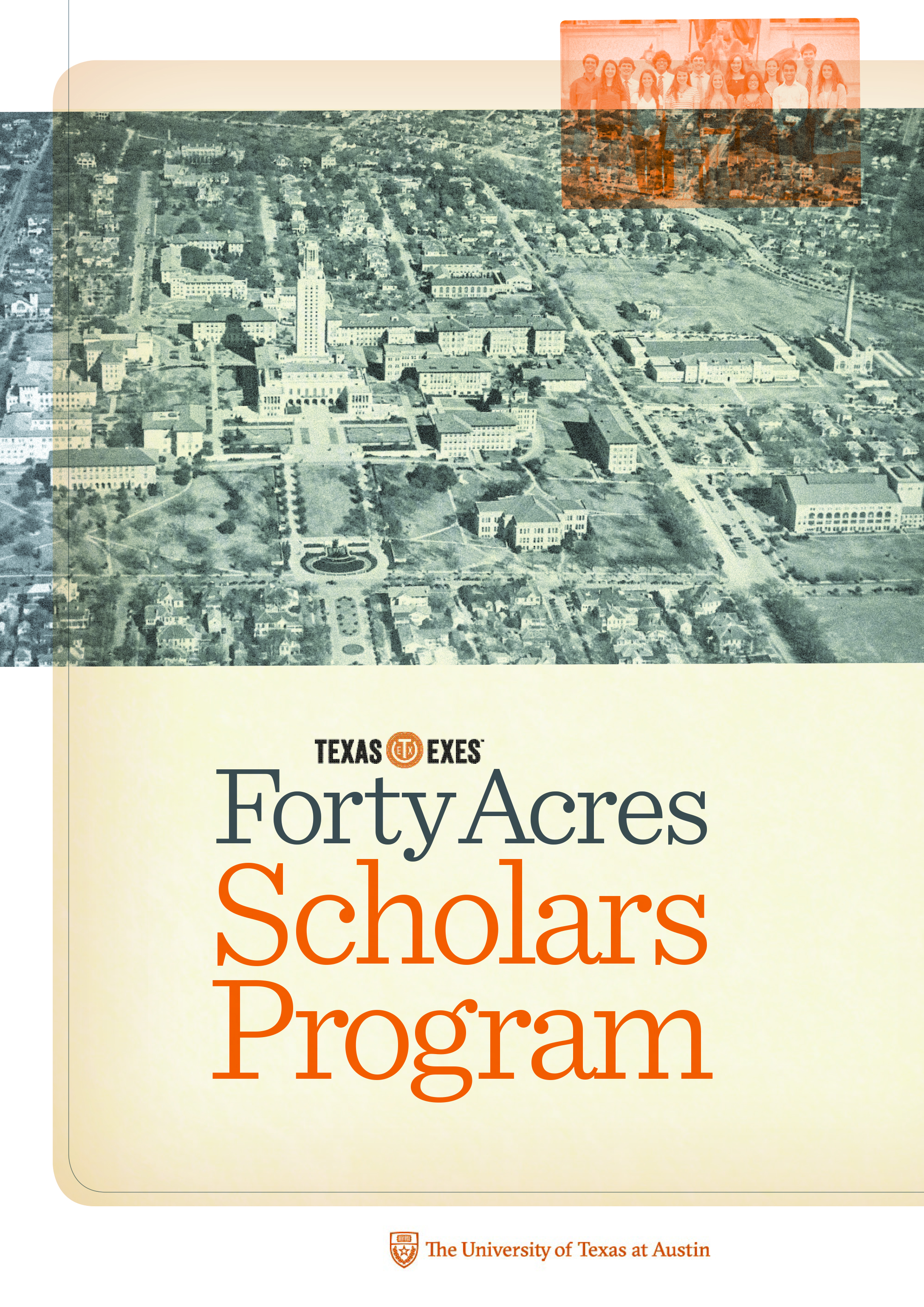 Brochure for scholarship program