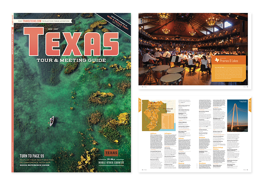 Tourism magazine for Governor's Office