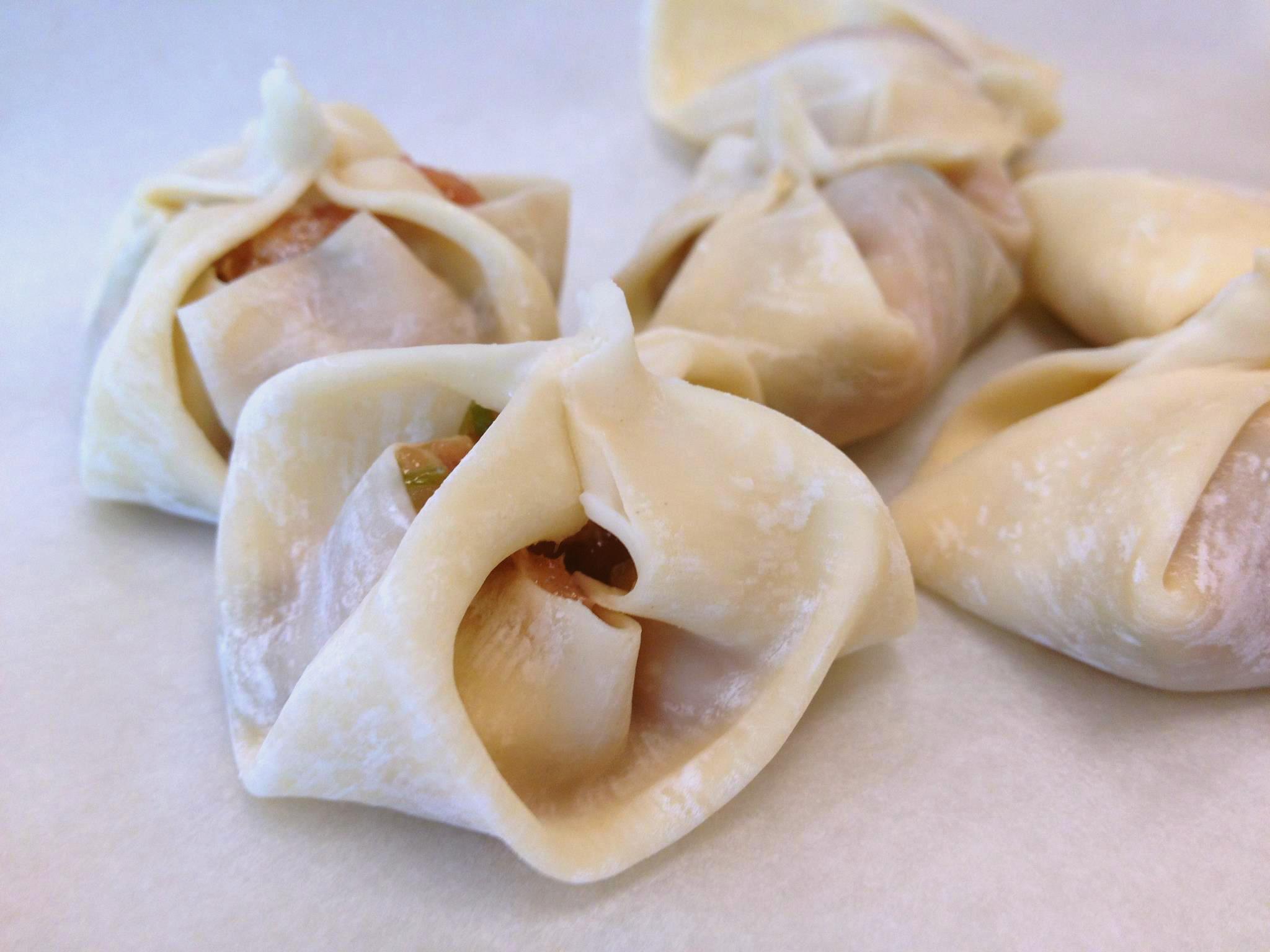 Red Book Chef Austin Texas Wedding Event Caterer dumplings