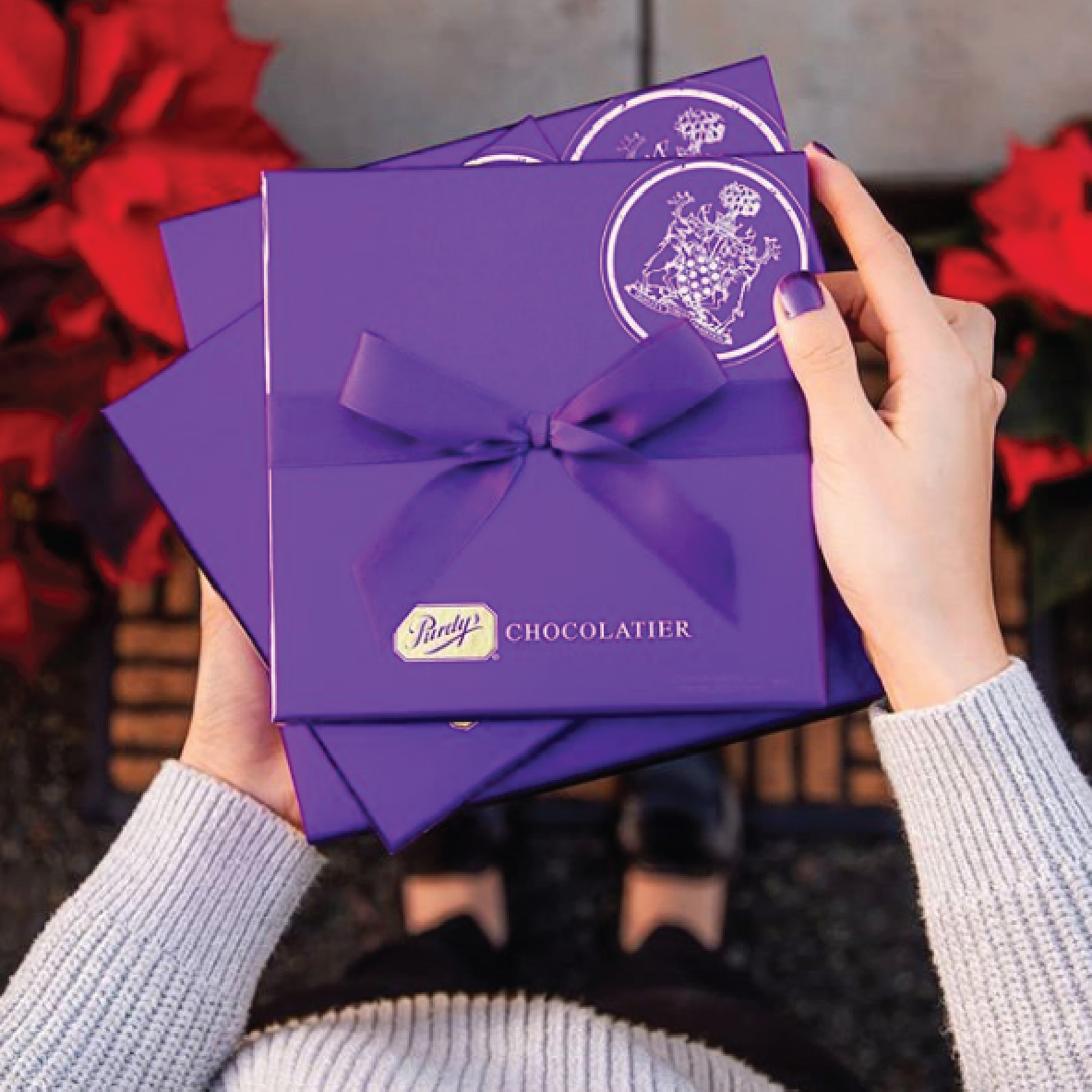 Purdys Signature Box Package Design
