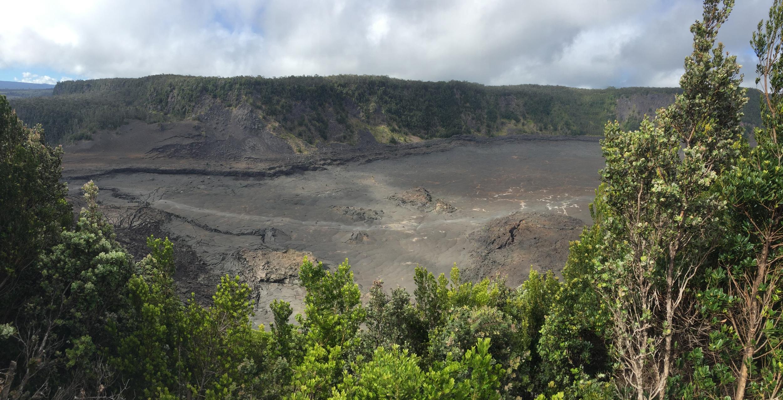 Kilauea Iki Trail at Volcano National Park