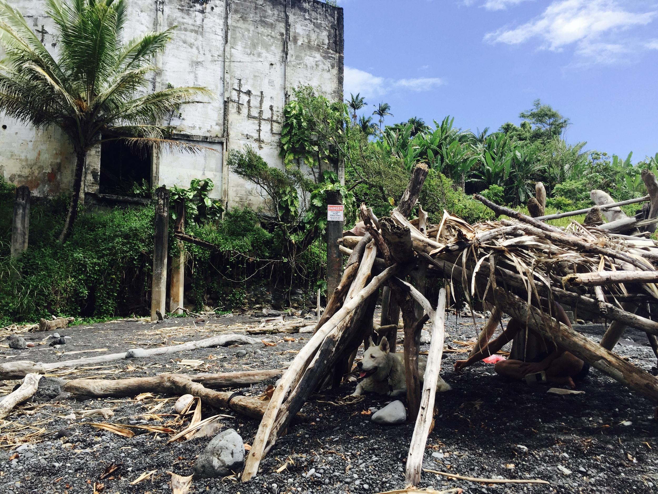 Abandoned Sugar Mill on the Hamakua Coast