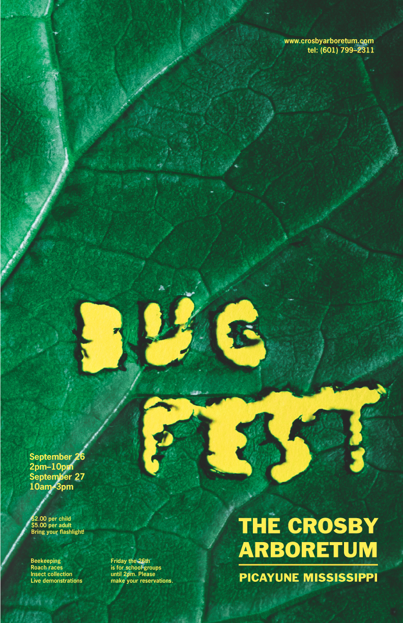 bug fest    advertising