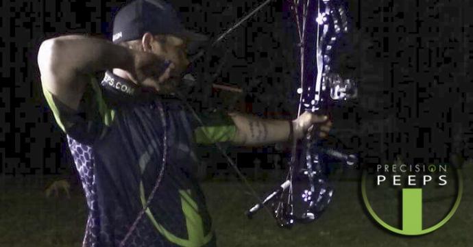 Photo from Travis Thomas' night 3D tournament in Pennsylvania