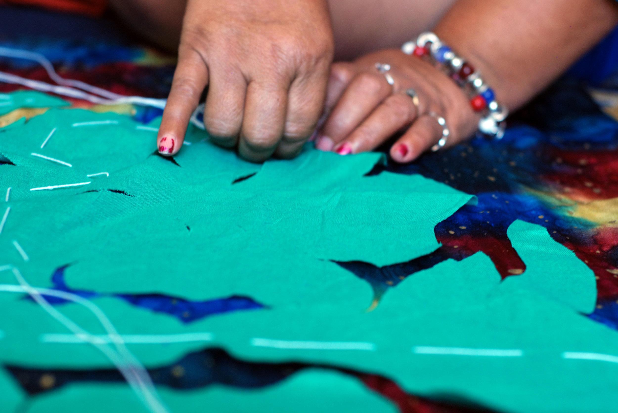 Tivaivai hand embroidery