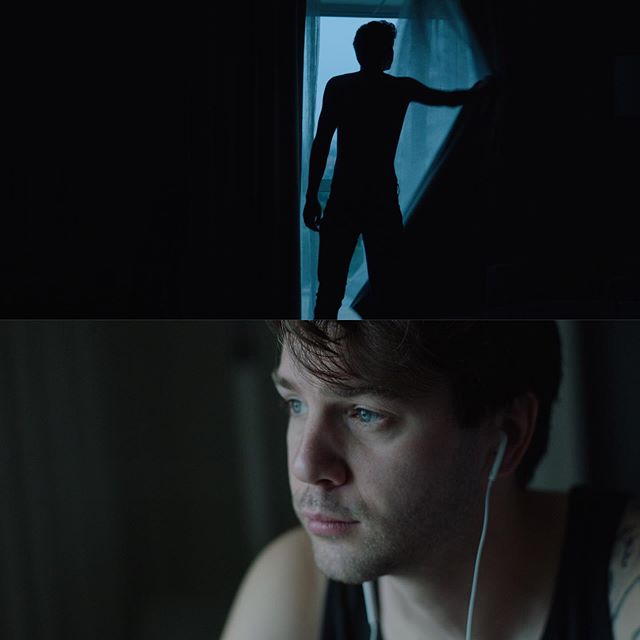 Available light + Alexa Mini + Zeiss B speed. What more do you need? @yourfriendjake takes a moment before grinding in the recording studio all day. Directed by @clarkefilms . . . . #alexa #alexamini #mini #cinematography #production #film