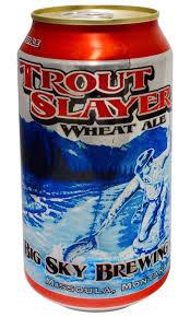 Big Sky Brewing Company, Trout Slayer Wheat Ale