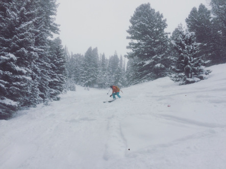 First Ski of the New Year! Photo: Akio Joy