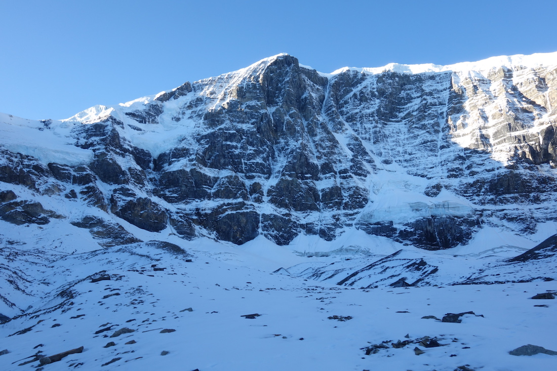 The North Face of Mt. kitchener