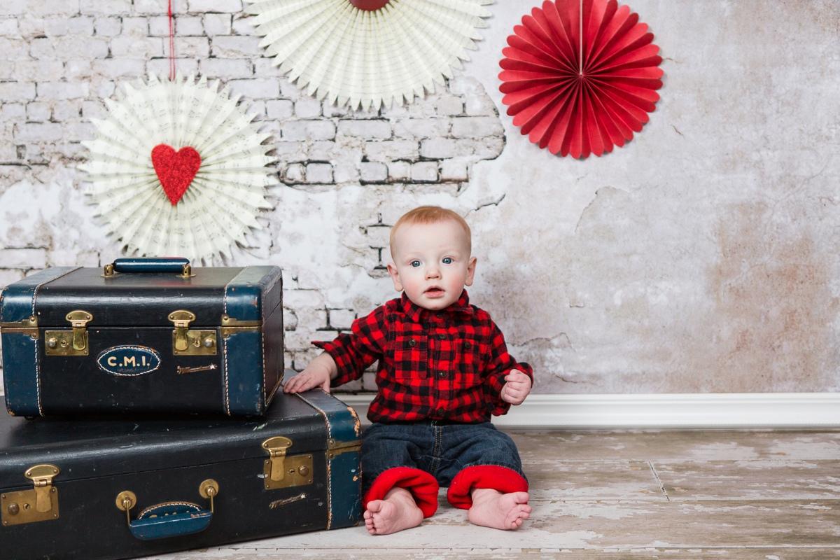 Reno baby photographer valentines bryson kristi gayton photography