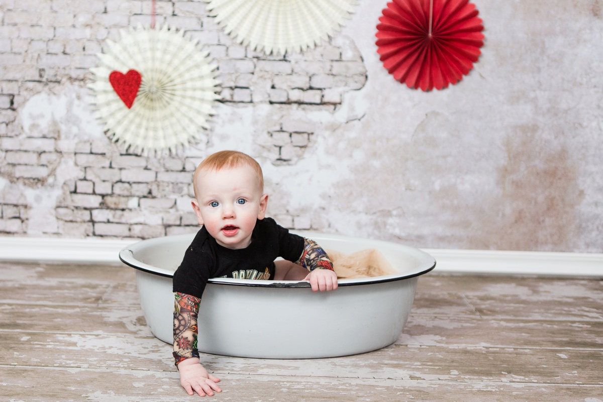reno baby photographer baby tattoo in basin kristi gayton photography