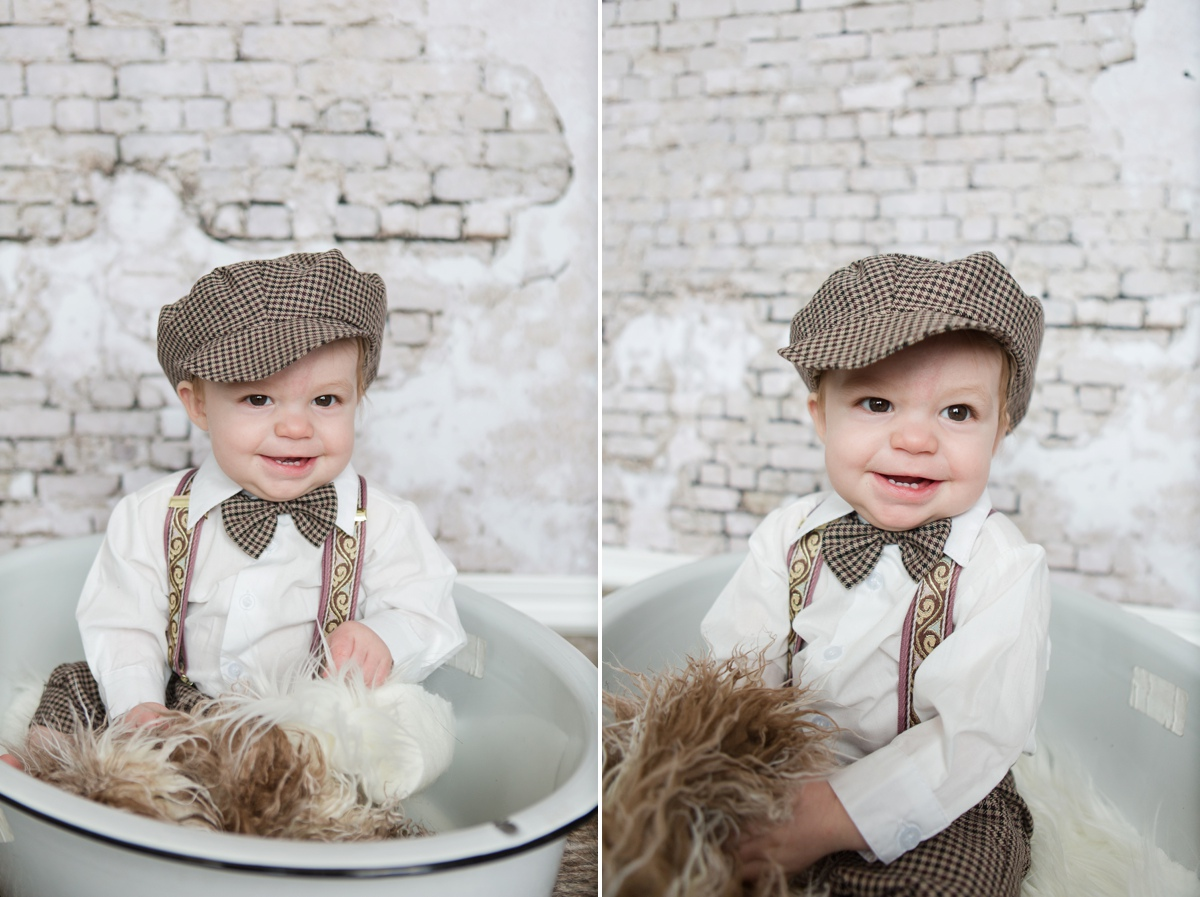 reno photographer baby in basin kristi gayton photography