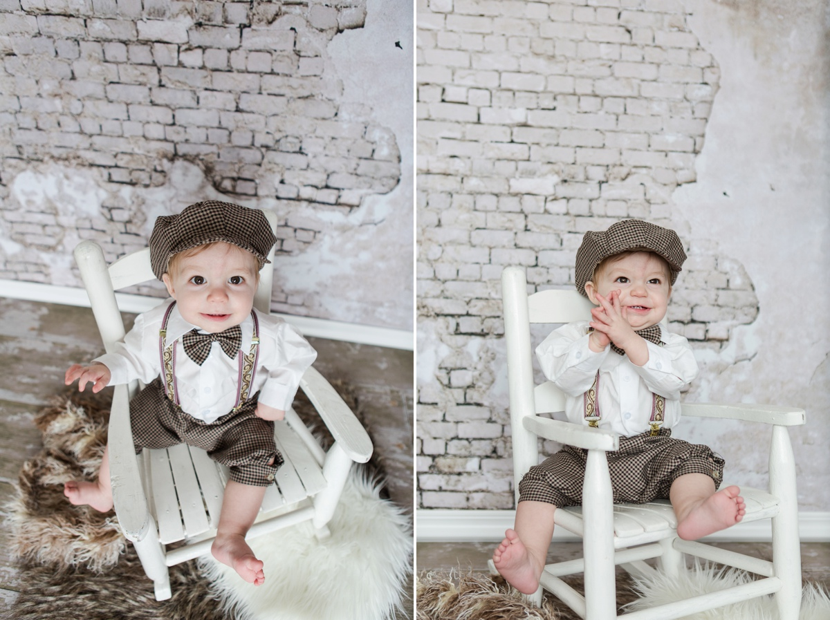 reno photographer baby clapping kristi gayton photography