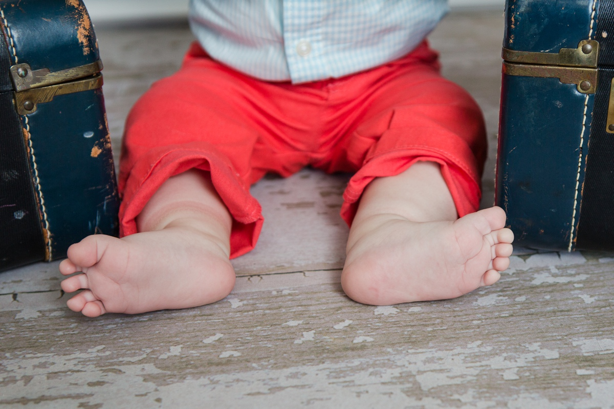 Reno newborn photographer baby feet kristi gayton photography