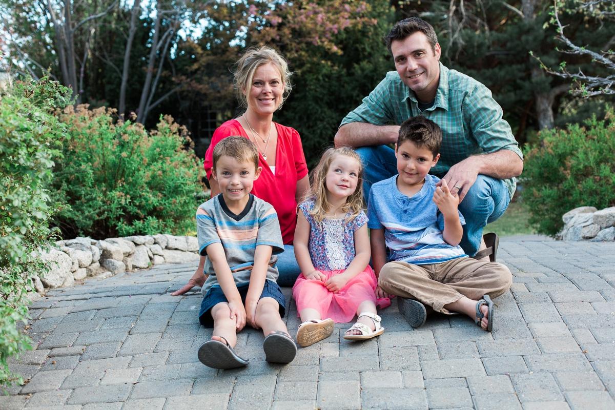 reno family photographer family of five park kristi gayton photography