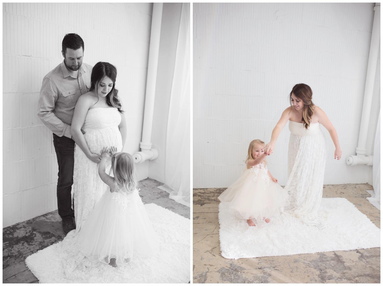 Reno family maternity photographer dancing with mom kristi gayton photography
