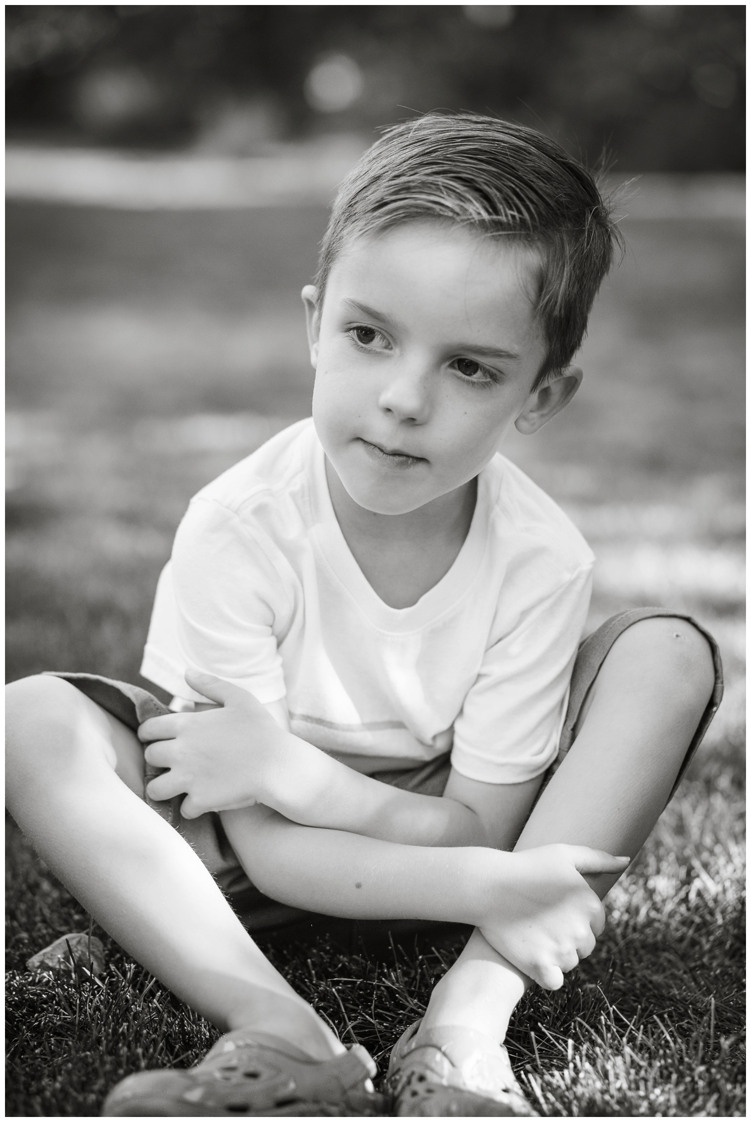Declan is definitely our more quiet, reflective kiddo. He's  introspective and thoughtful and kind.