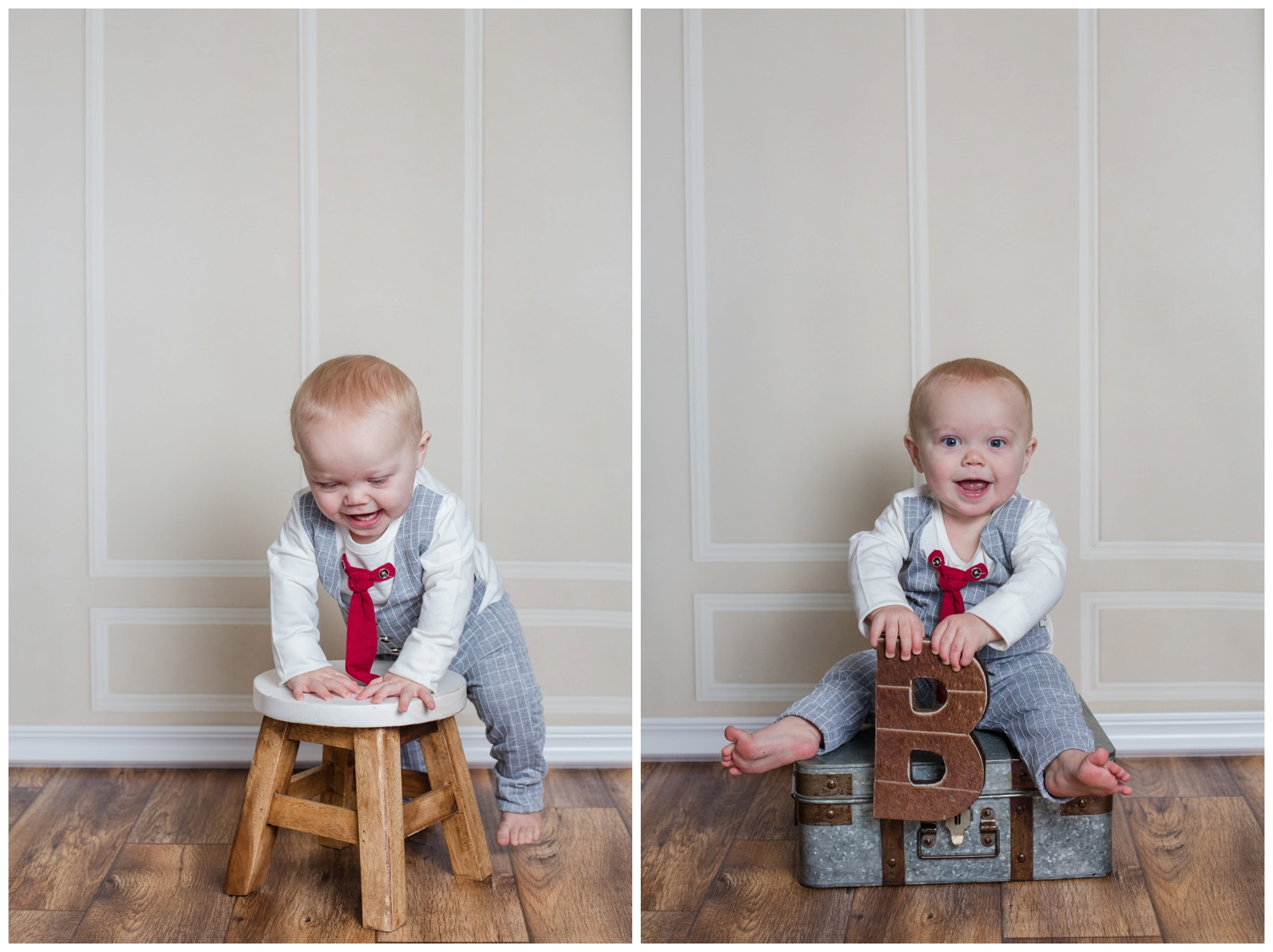 B is for Beckett Kristi Gayton photography one year old