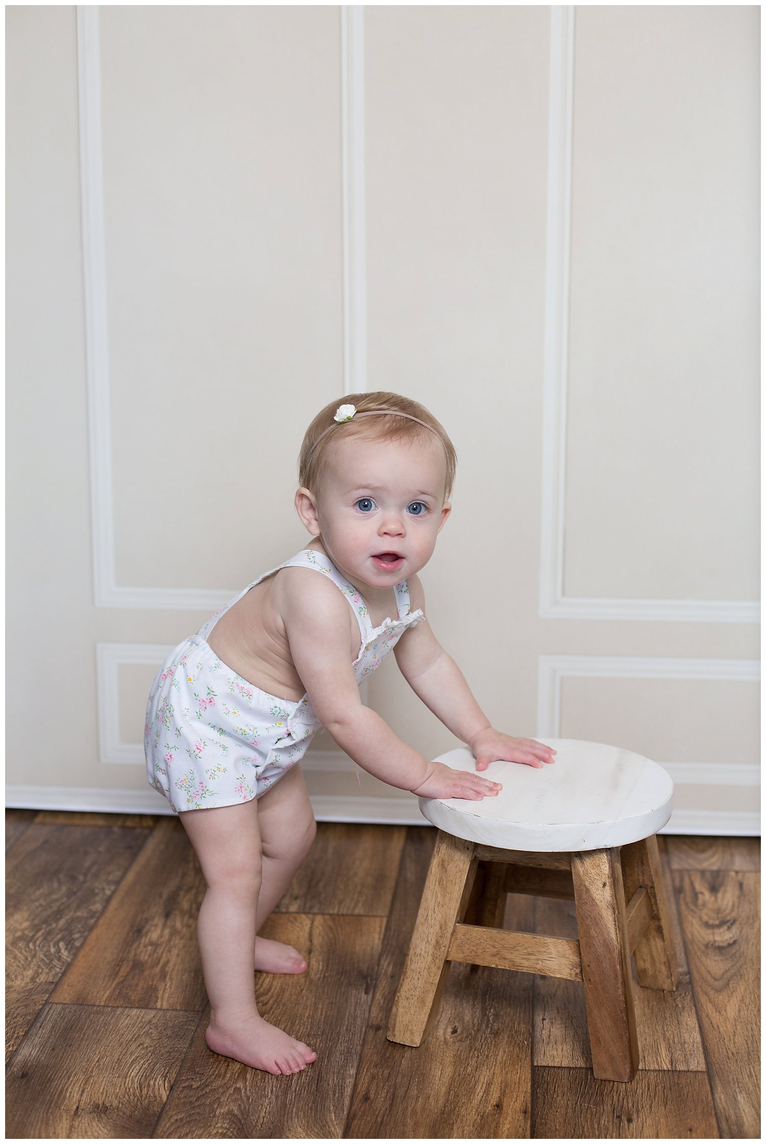 baby one year standing pictures reno Nevada