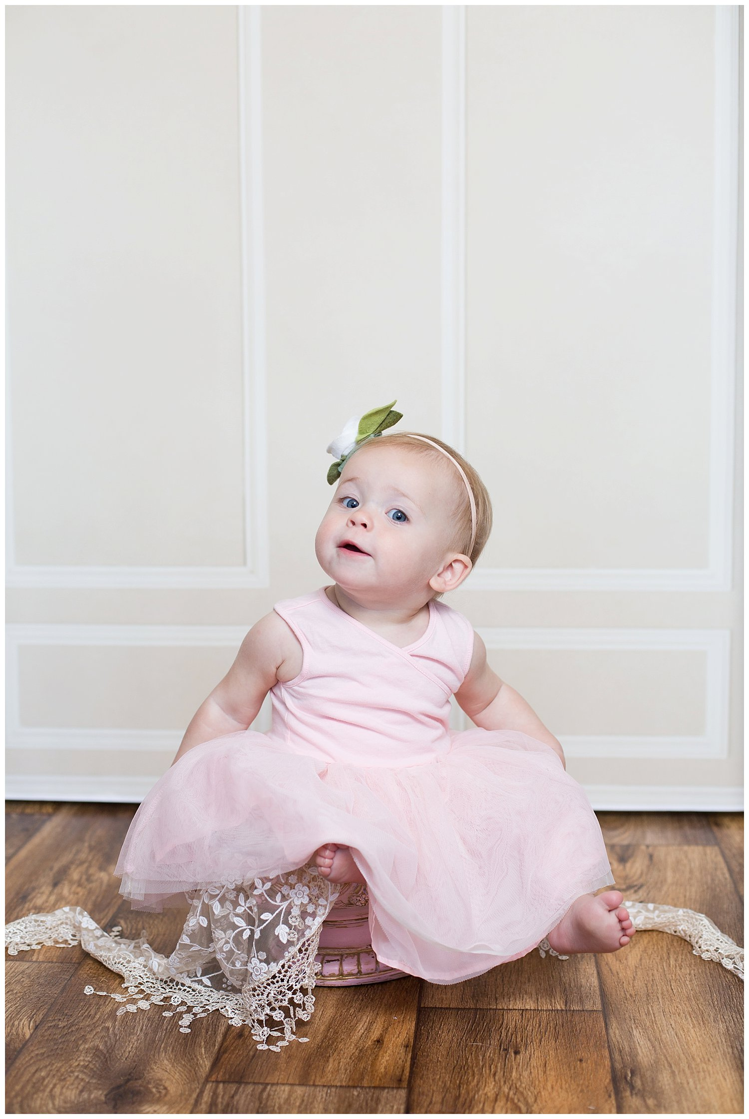 One year old and full of personality - Look at that darling facial expression!