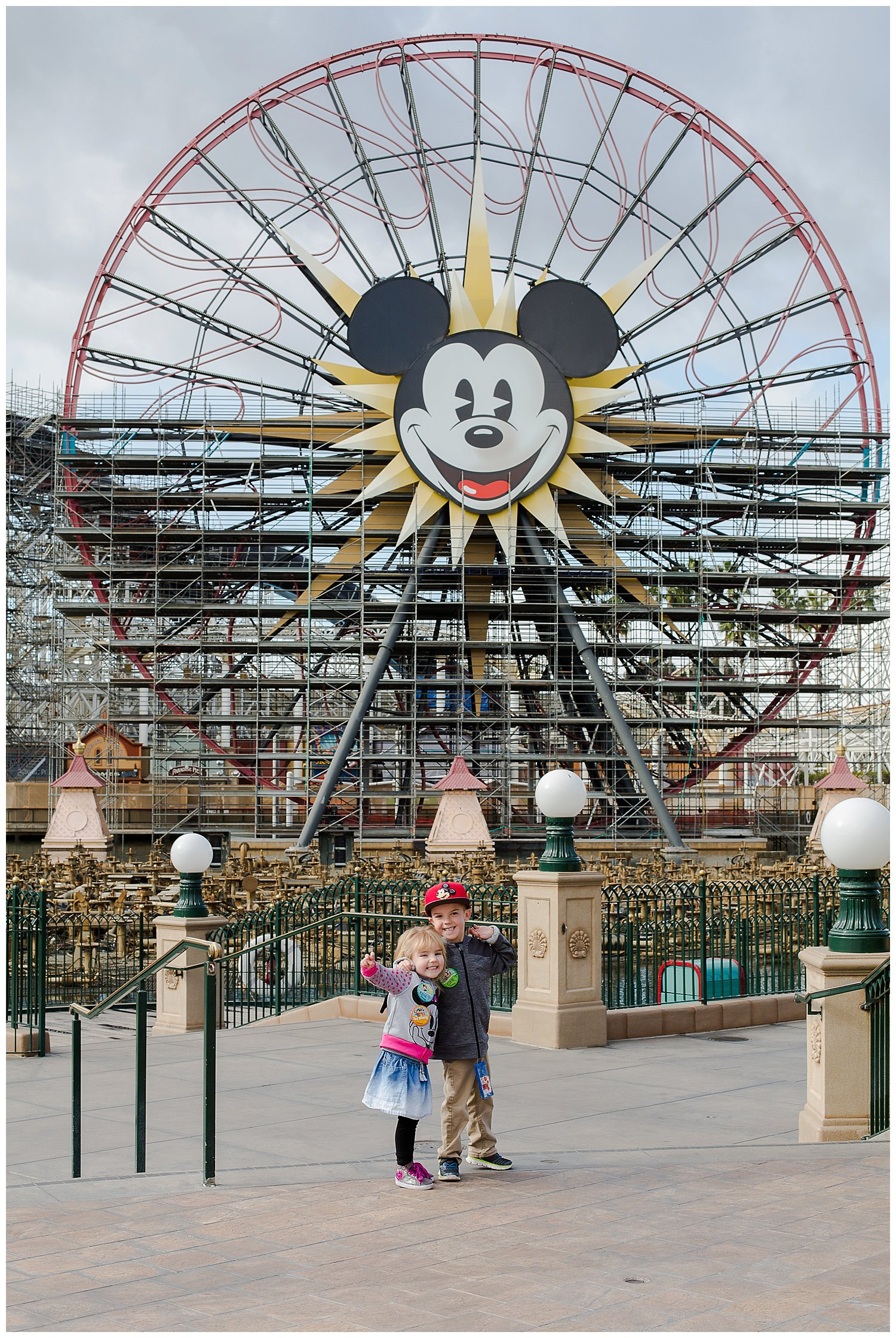 Checking out the California Adventure side of the park