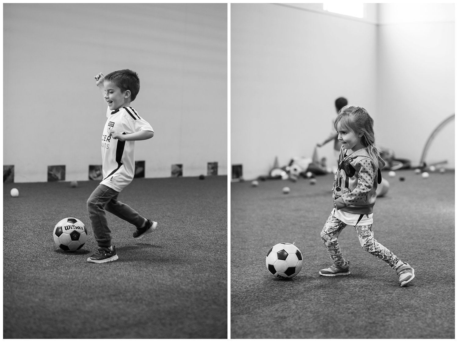 The kids showing off their soccer moves at The Reno Sports Dome. We loved this little soccer program! This is what I mean about taking pictures regardless of technical perfection. Definitely not ideal lighting here but that's not what matters... look at their happy little faces!