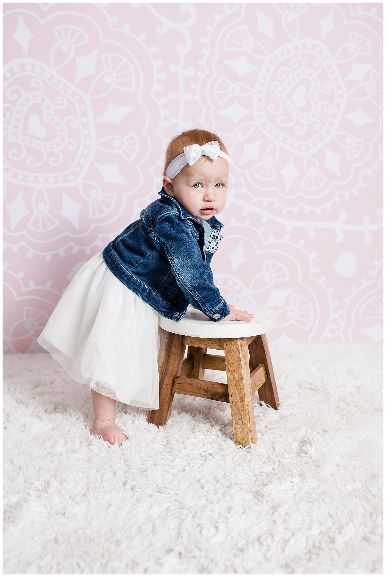 one year old reno photos blue jean jacket Charlotte