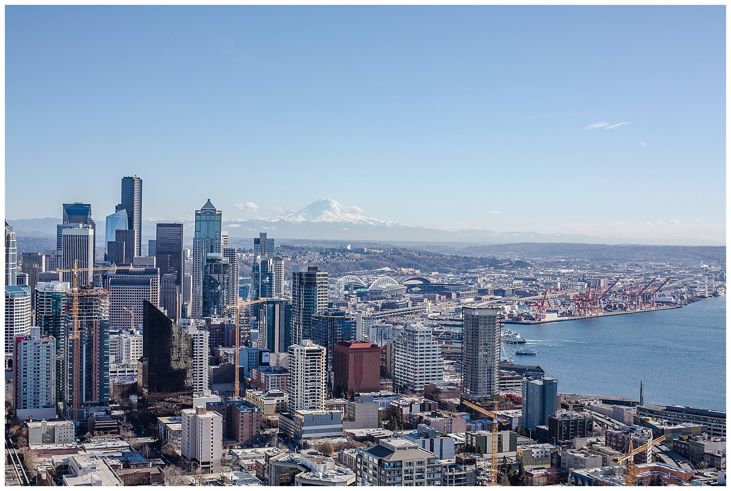 View from the Space Needle... breathtaking