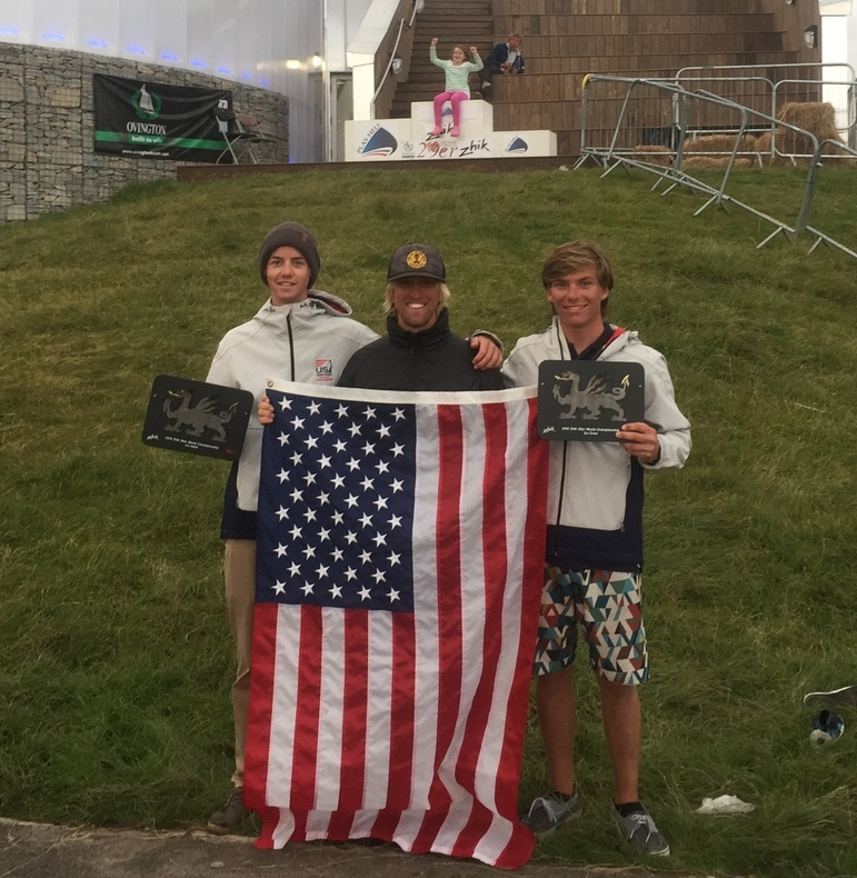 Chris Williford and Wade Waddell Win Bronze Medal at the 29er World Championship in Wales with Coach Willie Mcbride