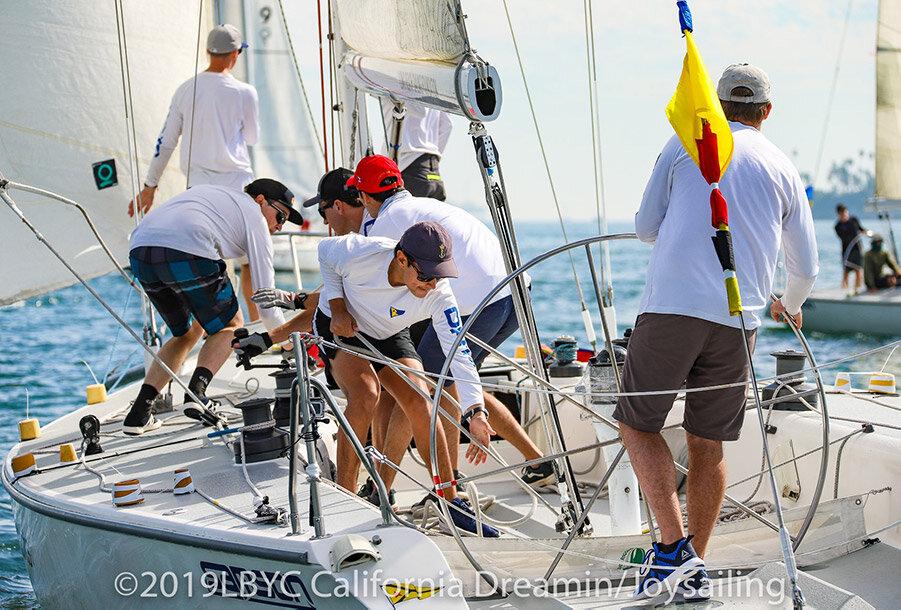 catalina 37 sailboat match racing with team dark horse match racing