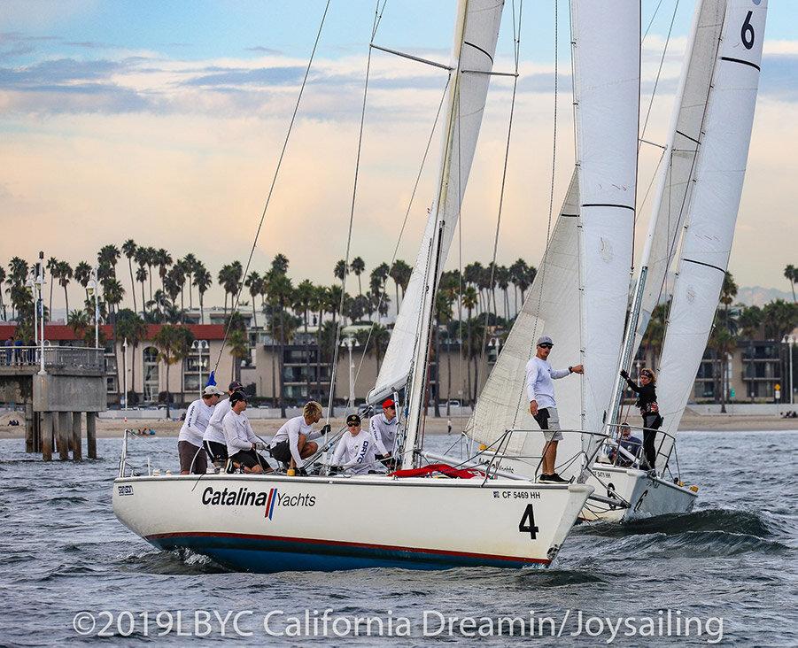 final race of california dreamin' match race sailing regatta