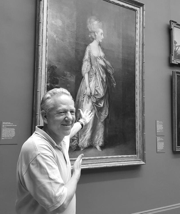Professor Andrew Lear at the Metropolitan Museum of Art
