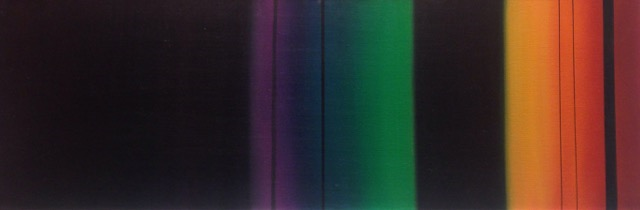A spectograph of Alexandrite