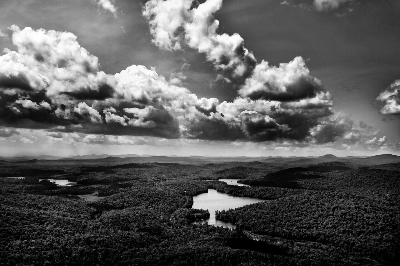 """""""Adirondack Lake"""" by Dominick Ricciardi"""